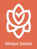 Logo Miriam Salete - Psicologa e autora